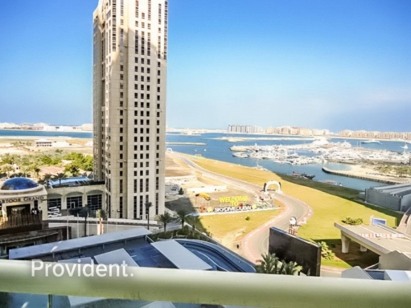 New Listing High Floor Alluring Sea and Palm view