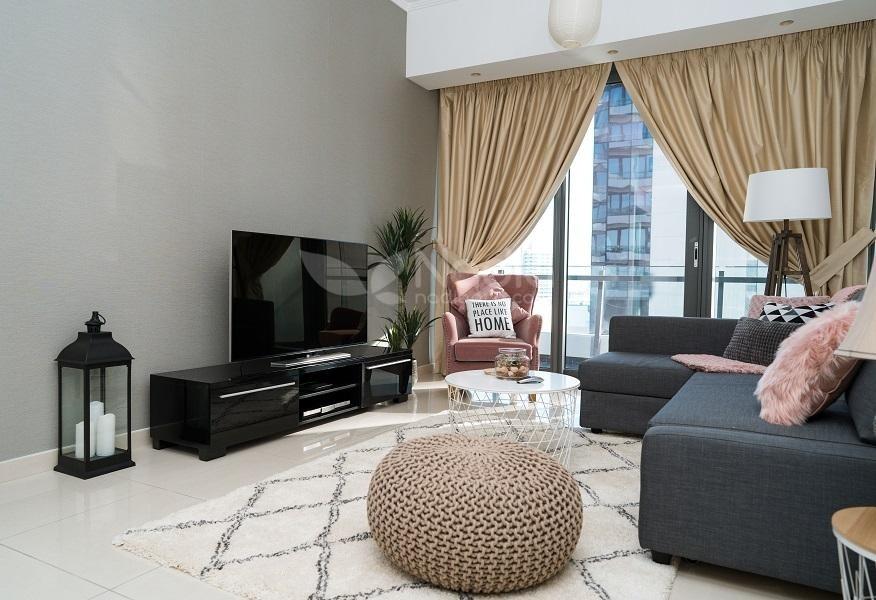 Furnished 2 Bedroom   Silverene Tower   Dubai Marina