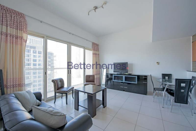 Fully Furnished|Partial Marina View|Metro