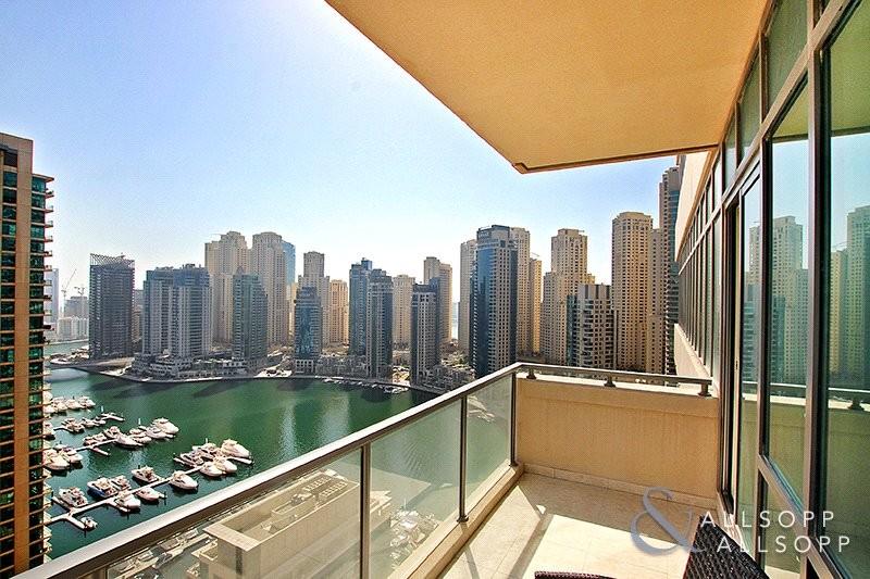 2 Bed | Large Balcony | Full Marina View
