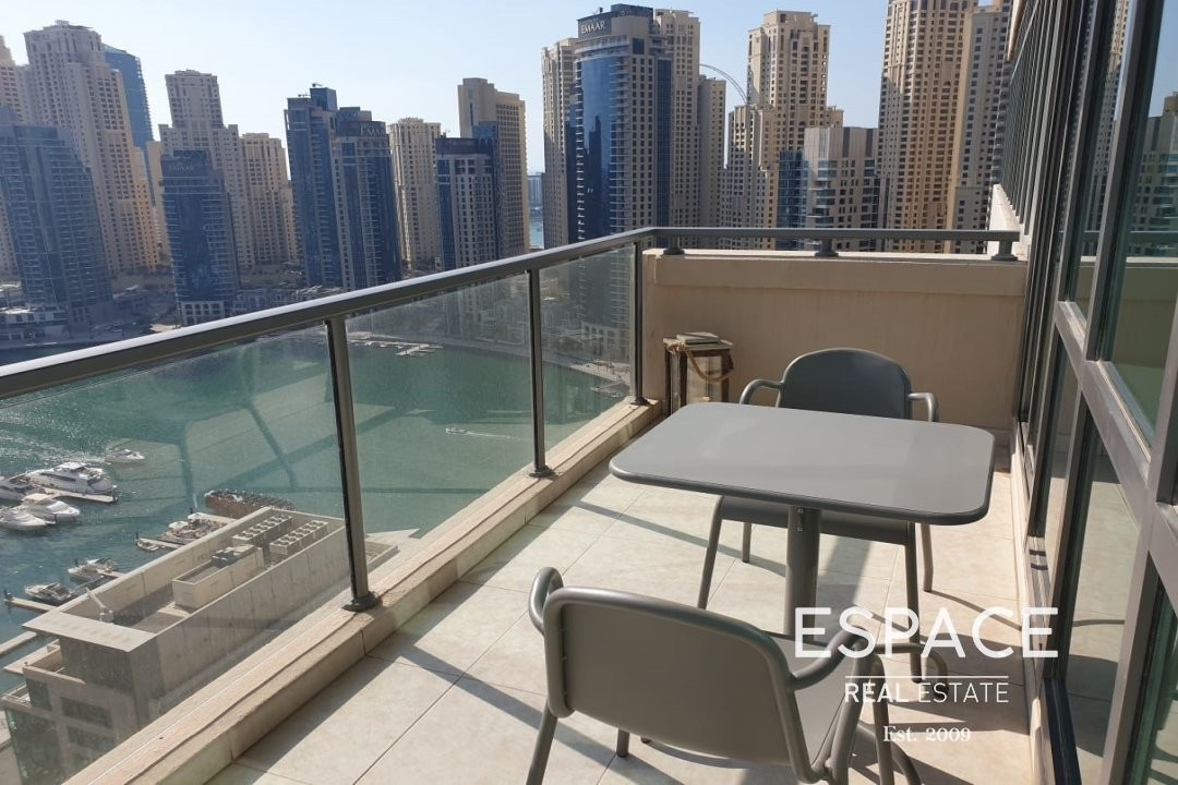 Full Marina View|Furnished|Chiller Free