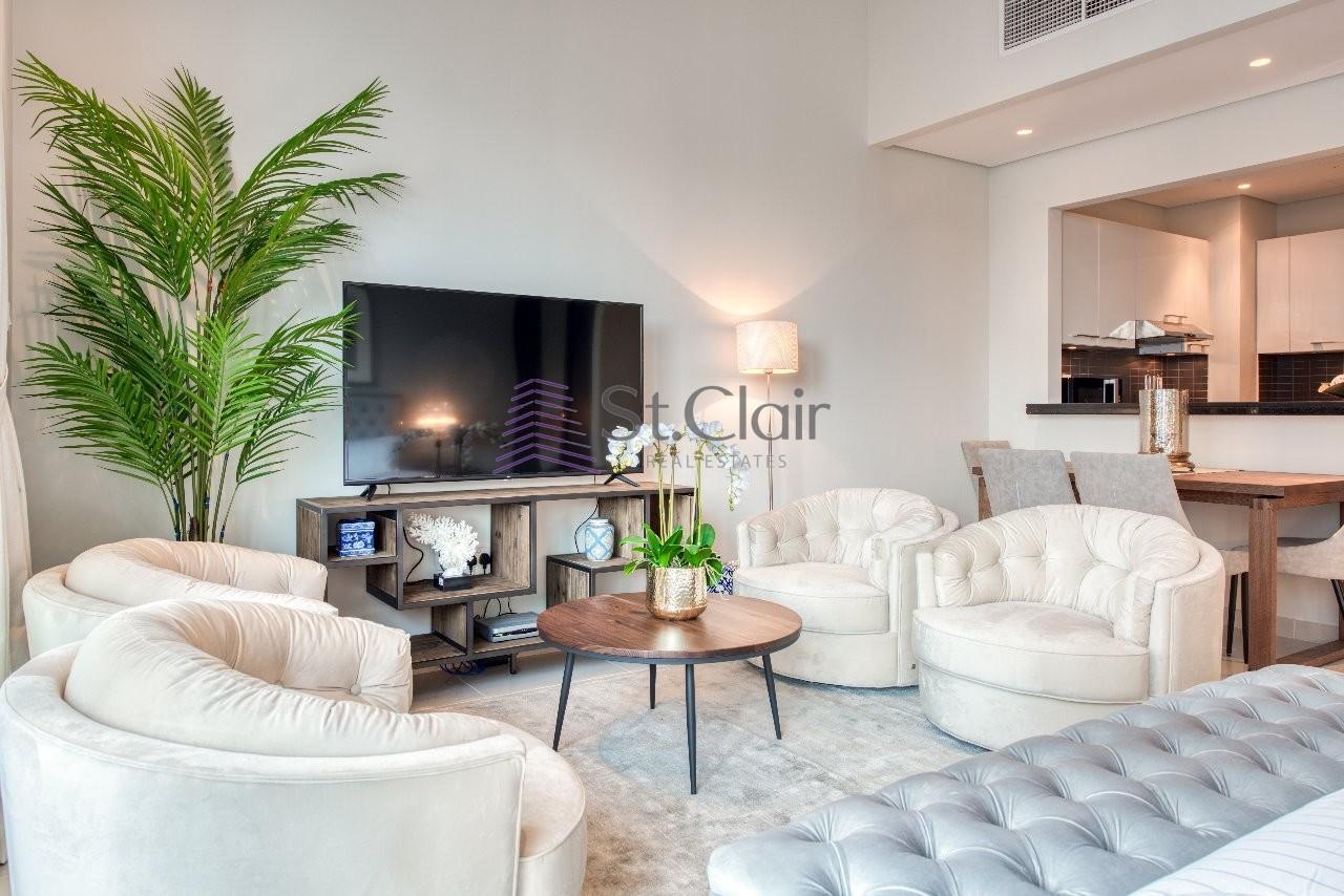 Amazing Studio Apartment  at Silveren Tower, Dubai Marina