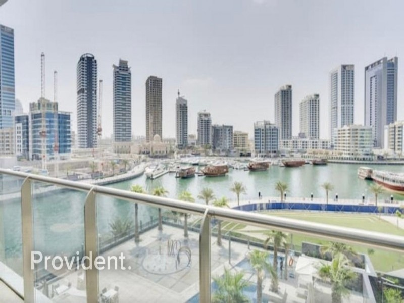 Brand New Fully Furnished 1 B/R with Marina View