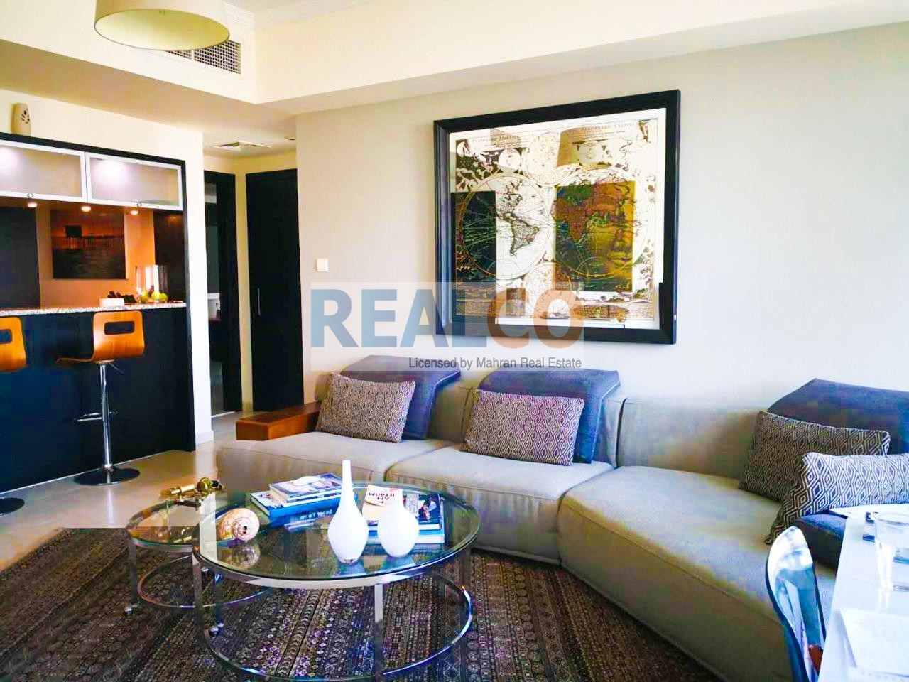 | FULLY FURNISHED 1 BR APT |HIGH FLOOR| READY TO MOVE IN |