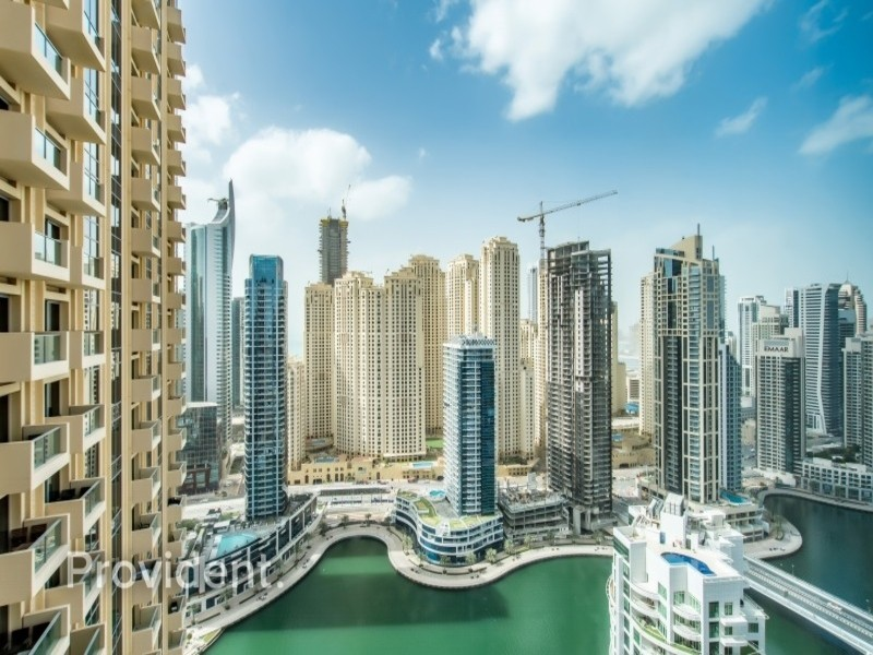 Spectacular view of Marina | Fully furnished 1 B/R