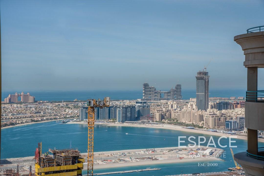 Unfurnished | High floor | Marina View