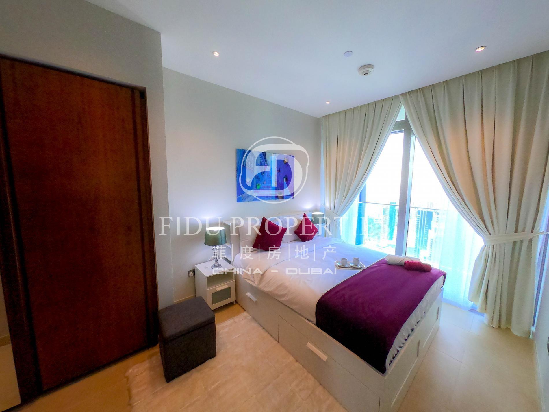 High Floor   Full Marina View   Serviced apartment