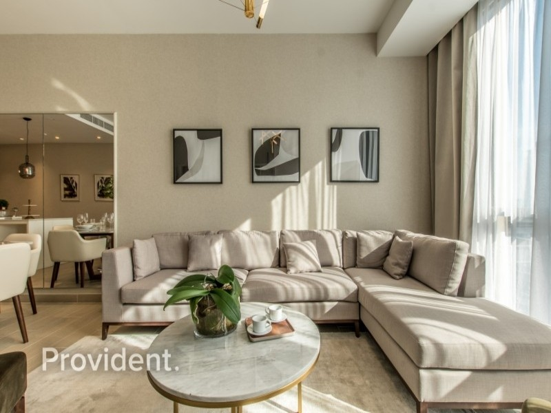 Exclusive and Managed|2 Beds+M|Full Marina View