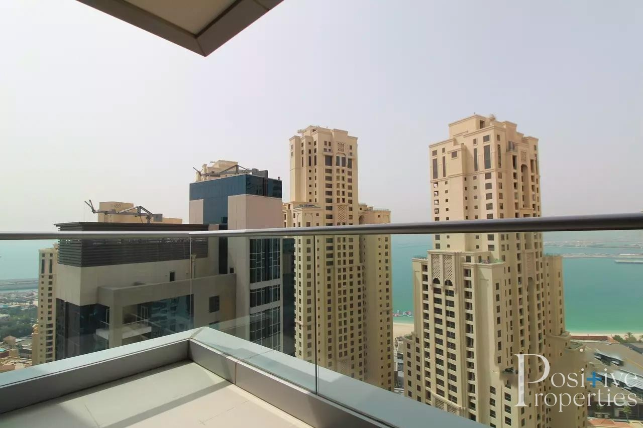 High Floor Sea View - Spacious 1Bed - Chiller Free