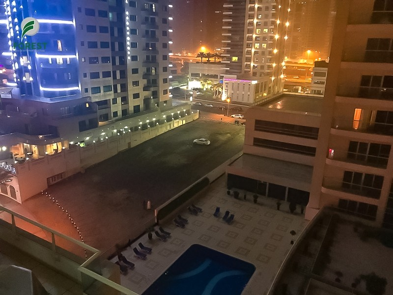 Furnished 1 Bedroom with Balcony   Chiller Free
