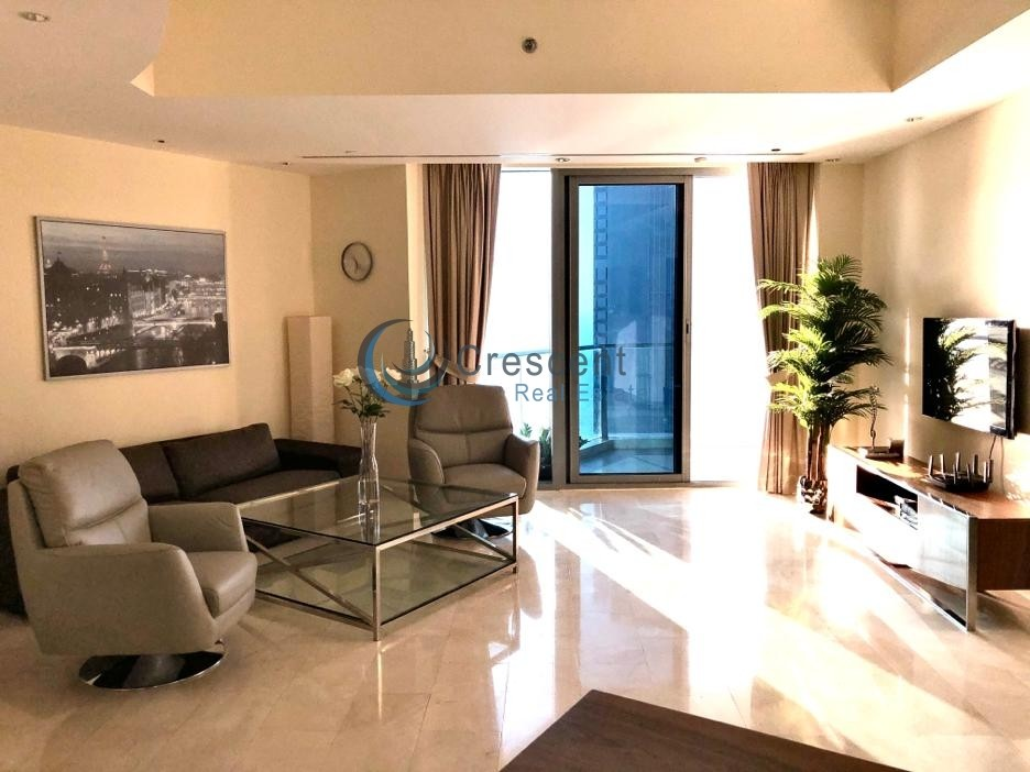Fully Furnished High Floor Stunning View