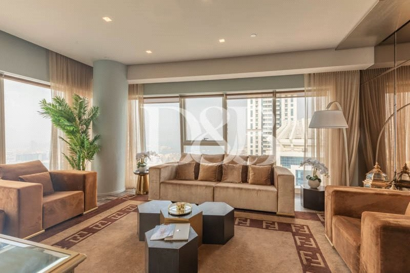Upgraded Fendi Penthouse | Sea Views | Key with Me