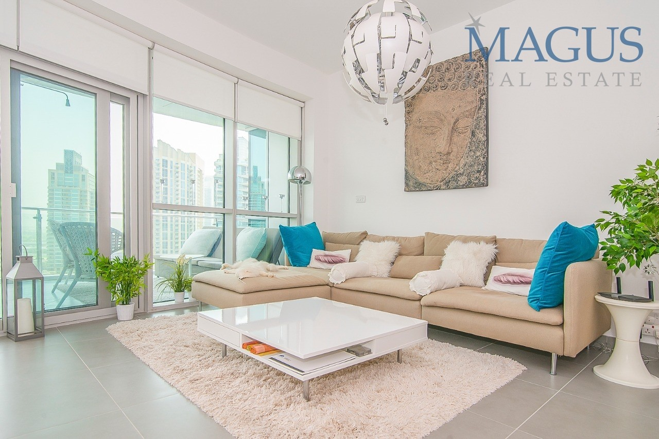 Full Marina View | Furnished| UPGRADED | Chiller free|