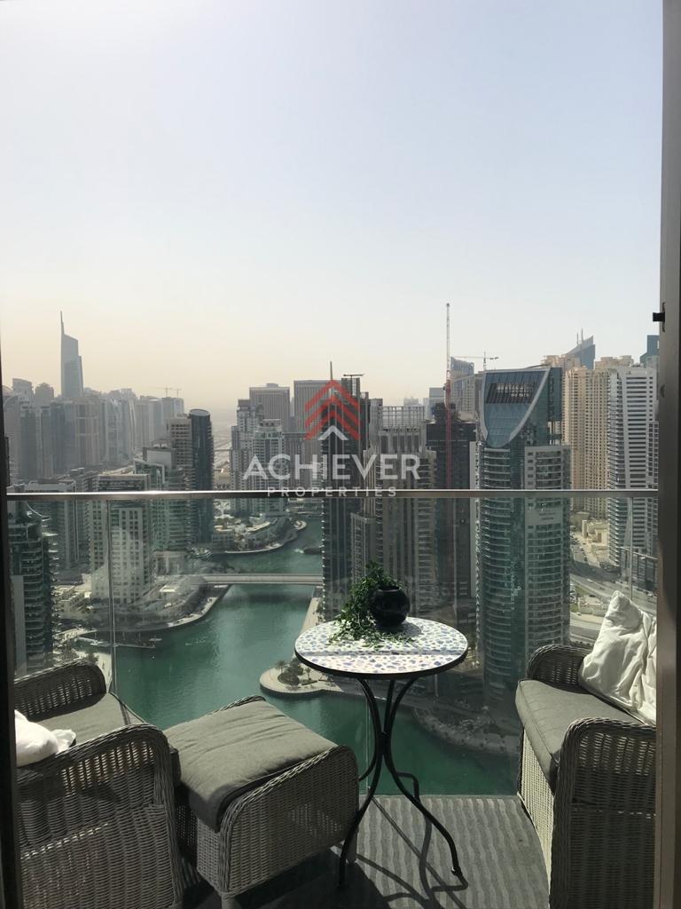 Exquisite 1 BR | High Floor | Stunning Marina View