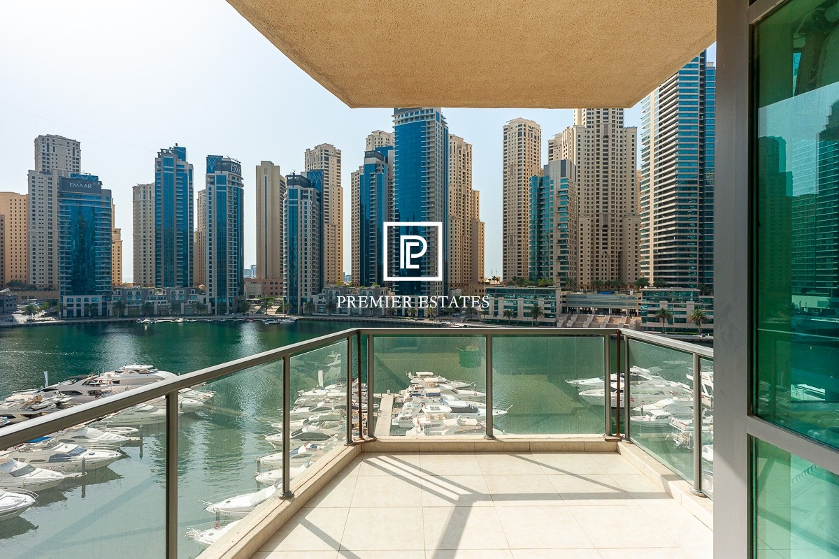 Full Marina View | 3 Bedroom | Vacant Chiller Free