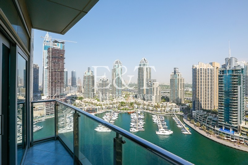 Exclusive: Beautiful Full Marina View | High Floor