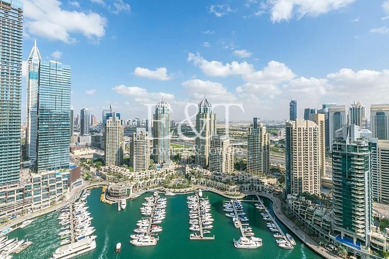 Spacious | Marina View | High Floor | Free AC