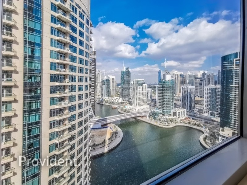 Fully Furnished, High Floor, Marina View
