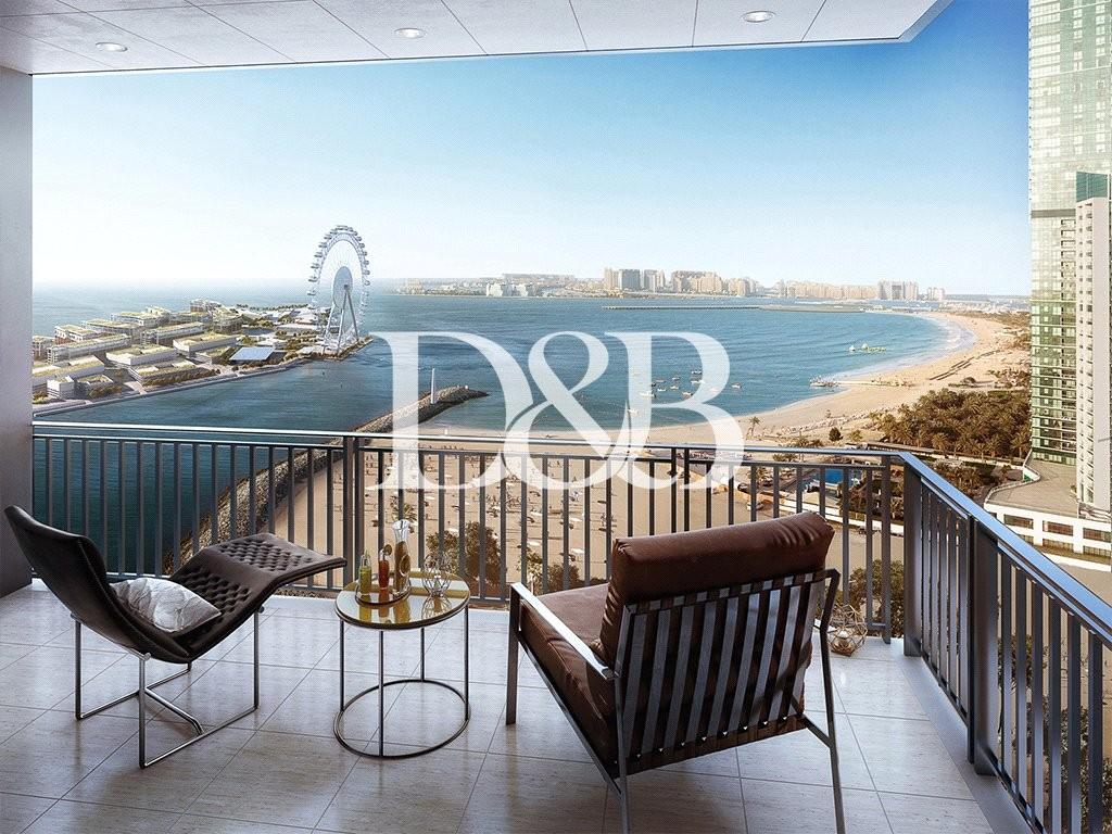 Resale | Full Sea & Dubai Eye View | Rare Unit