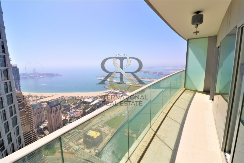 Sea and Marina View 1 Bedroom Rented High End Furnishing.