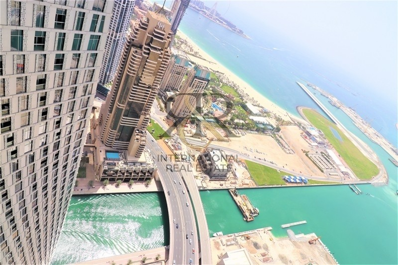 With 360 Video Tour | Palm & Sea View | 2 Bedrooms Furnished