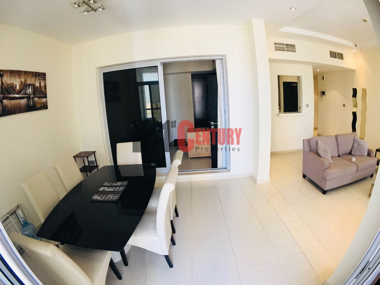 Fully furnished 3 BR Sea View in Sky View Tower