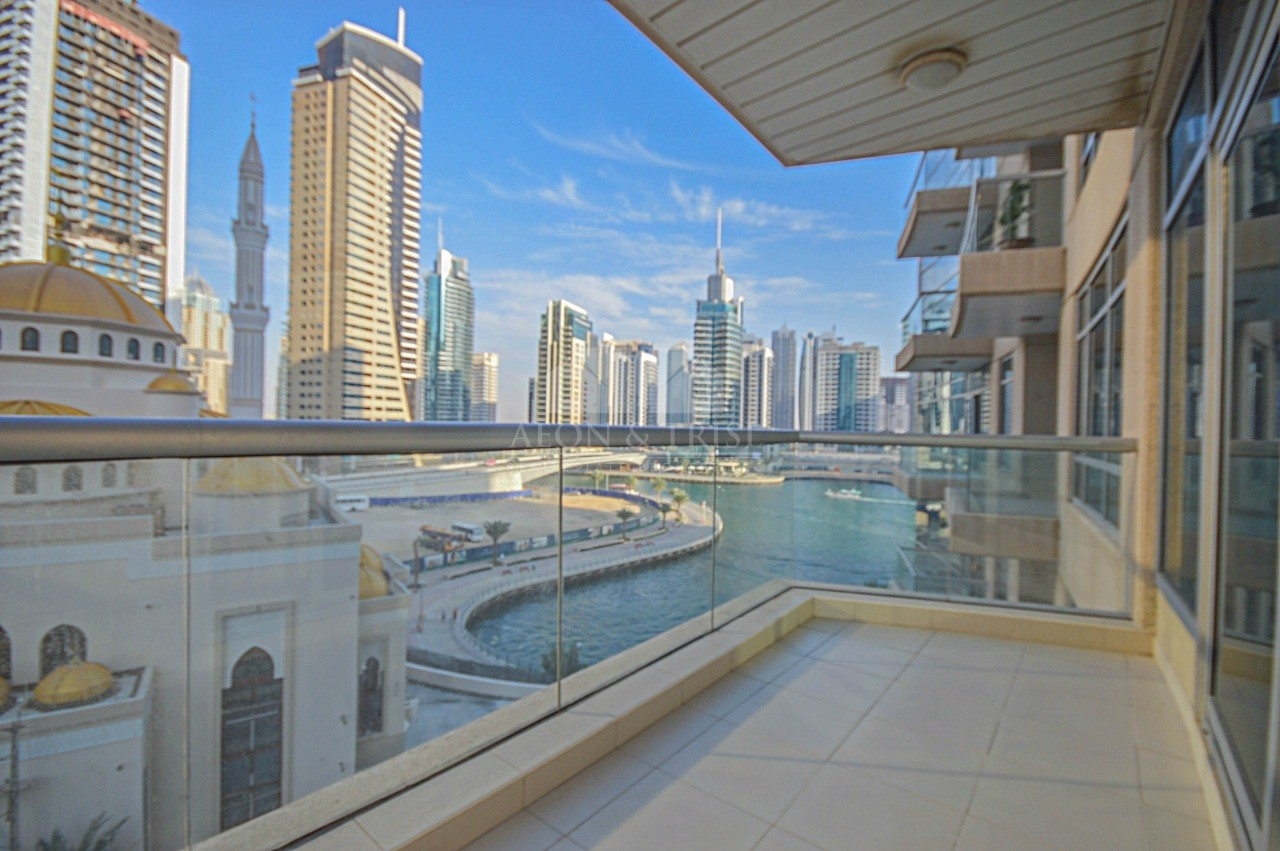 Marina view | Balcony | Vacant | Chiller Free