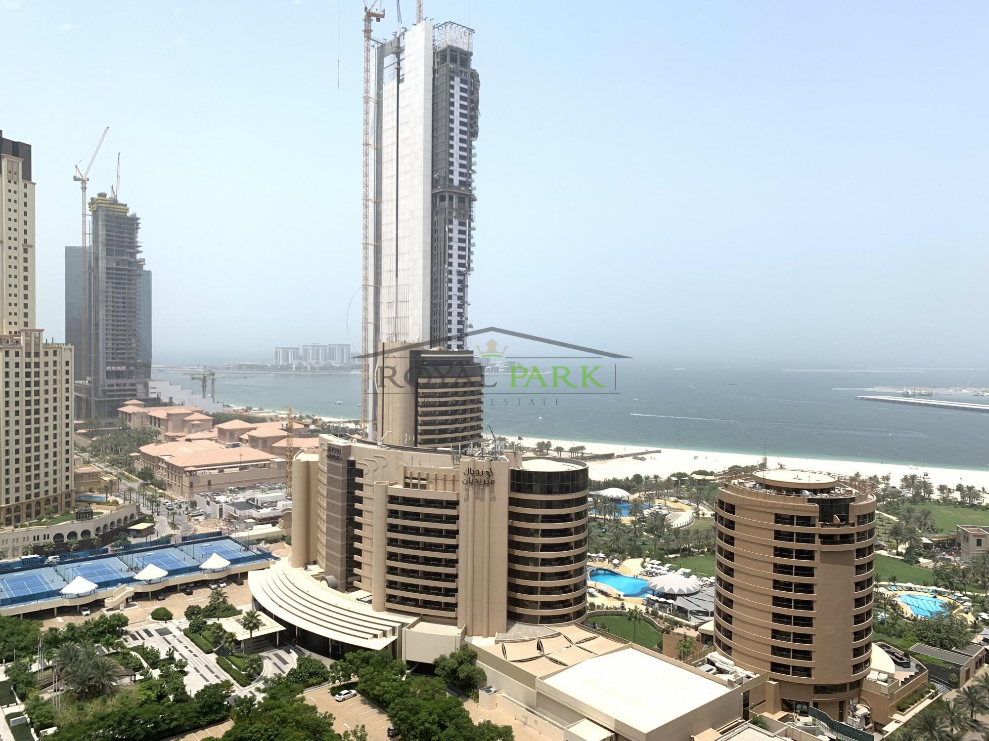 SEA VIEW High Floor 1BR In Botanica Tower Dubai Marina
