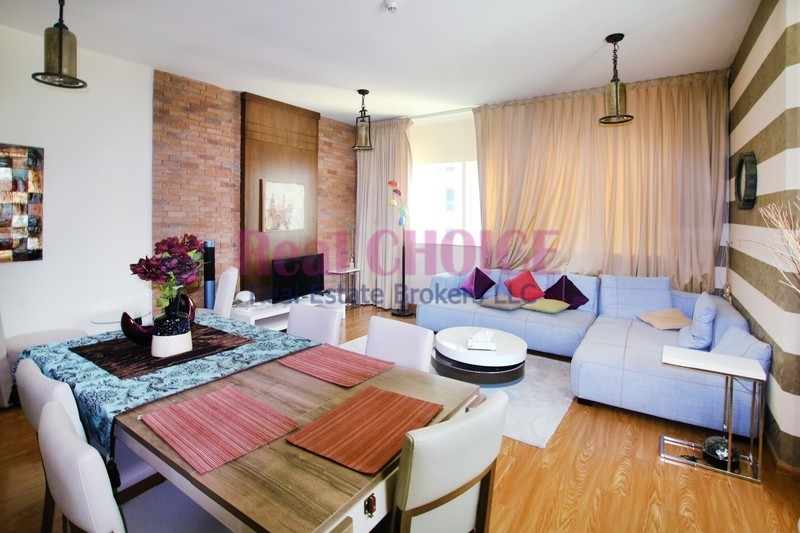 Fully Furnished 2BR with Spacious Layout Apartment