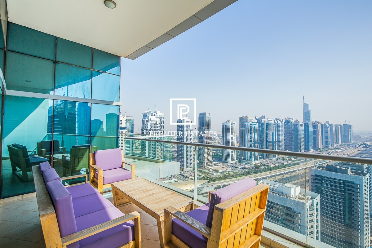 Fully Furnished 2 Bed plus Maids | Marina views