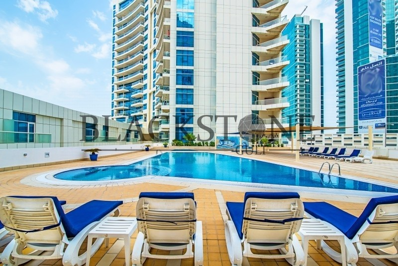 Penthouse Fully Furnished 3BR+Maid| High Floor | 4 cheques