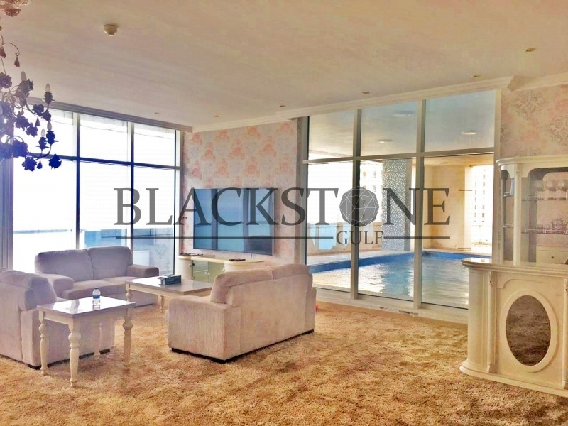 Fully Furnished 3BR+Maid For Sale| High Floor | Marina View