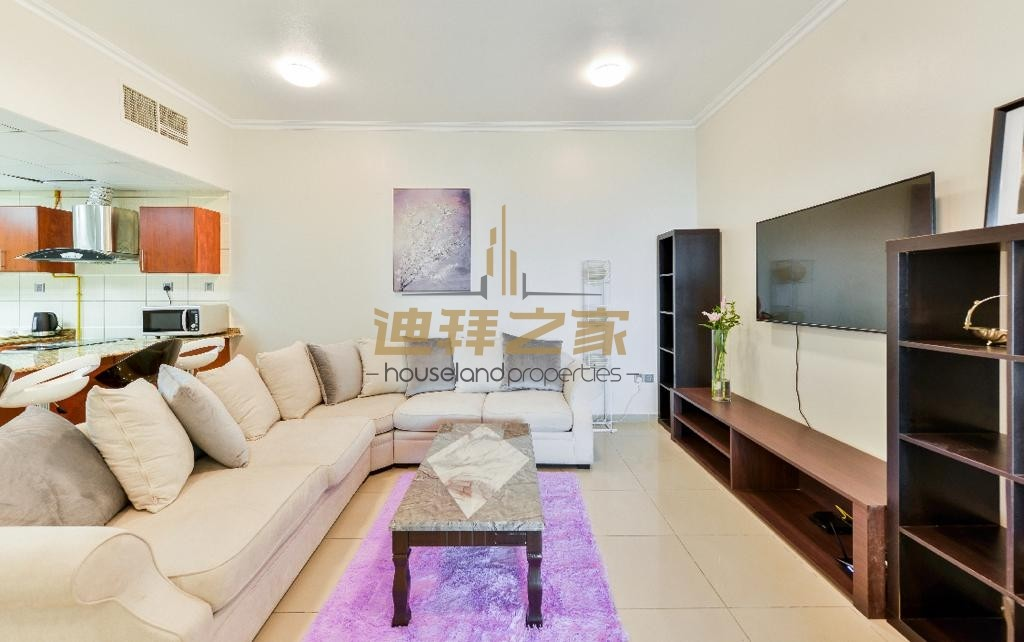 3 Bhk / Luminous /Magnificent View/ Furnished/ Spacious 3 bedroom apartment