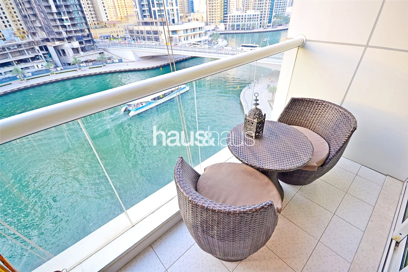 F. Furnished | Stunning Marina Views | High Floor