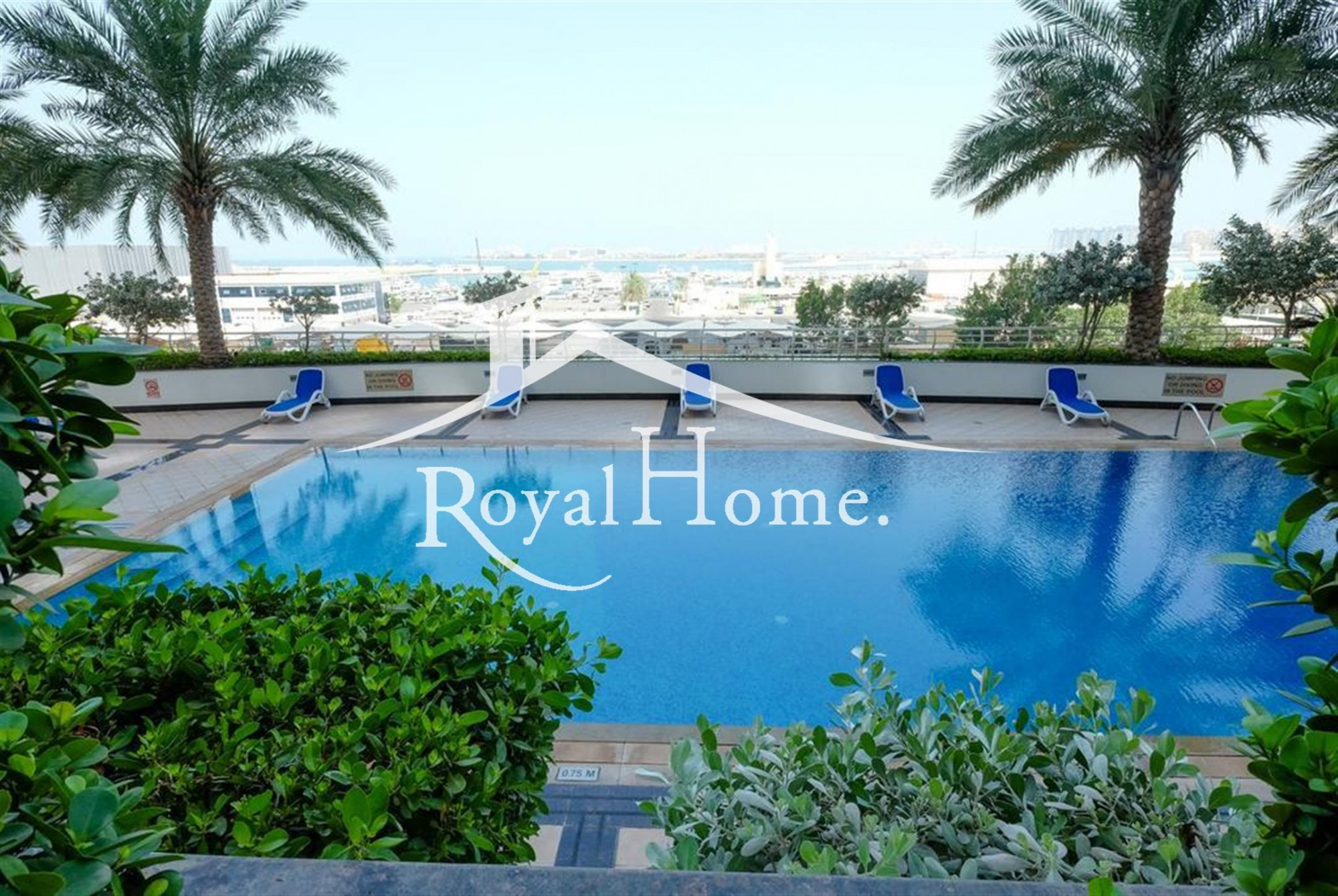 Luxurious 3 Bed apartment I Full Sea View I Fully Furnished