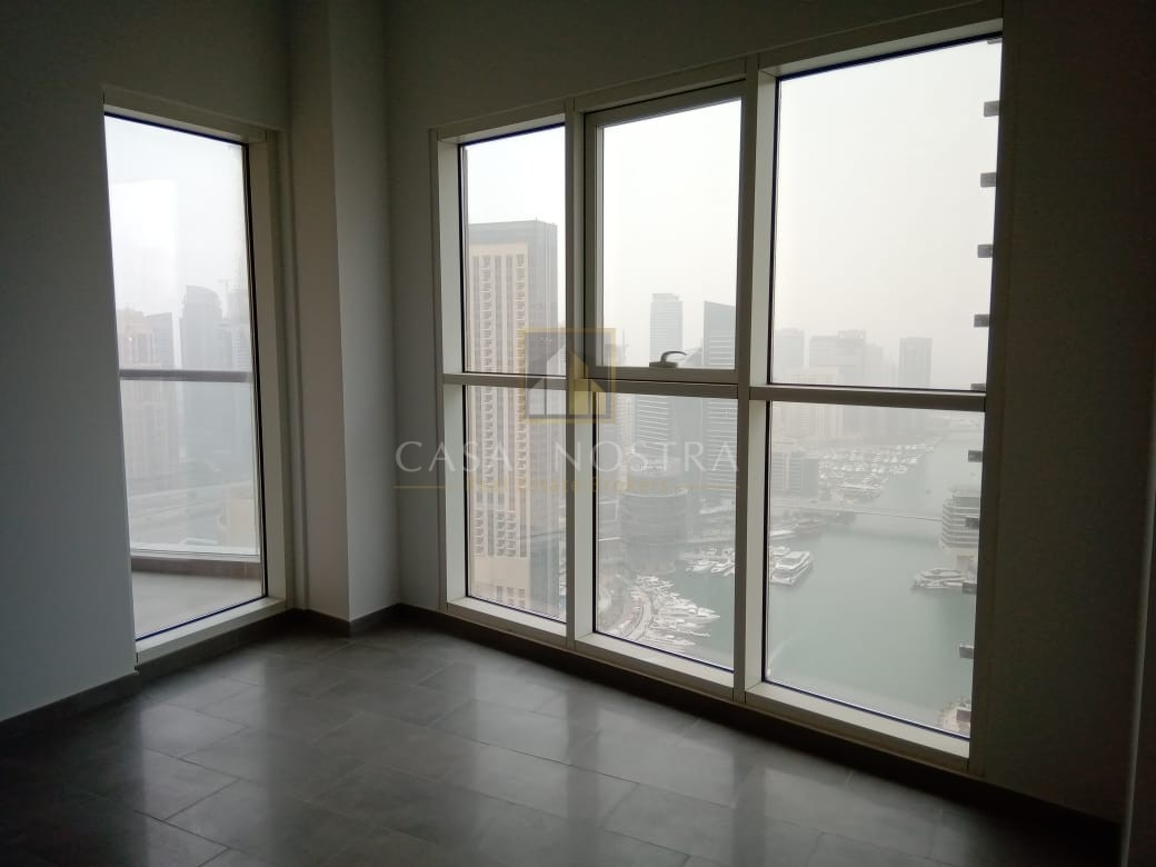 Full Marina View Brand New 3BR with Balcony Chiller Free