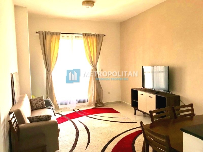 Fully Furnished & Equipped Brand New 1BR For rent