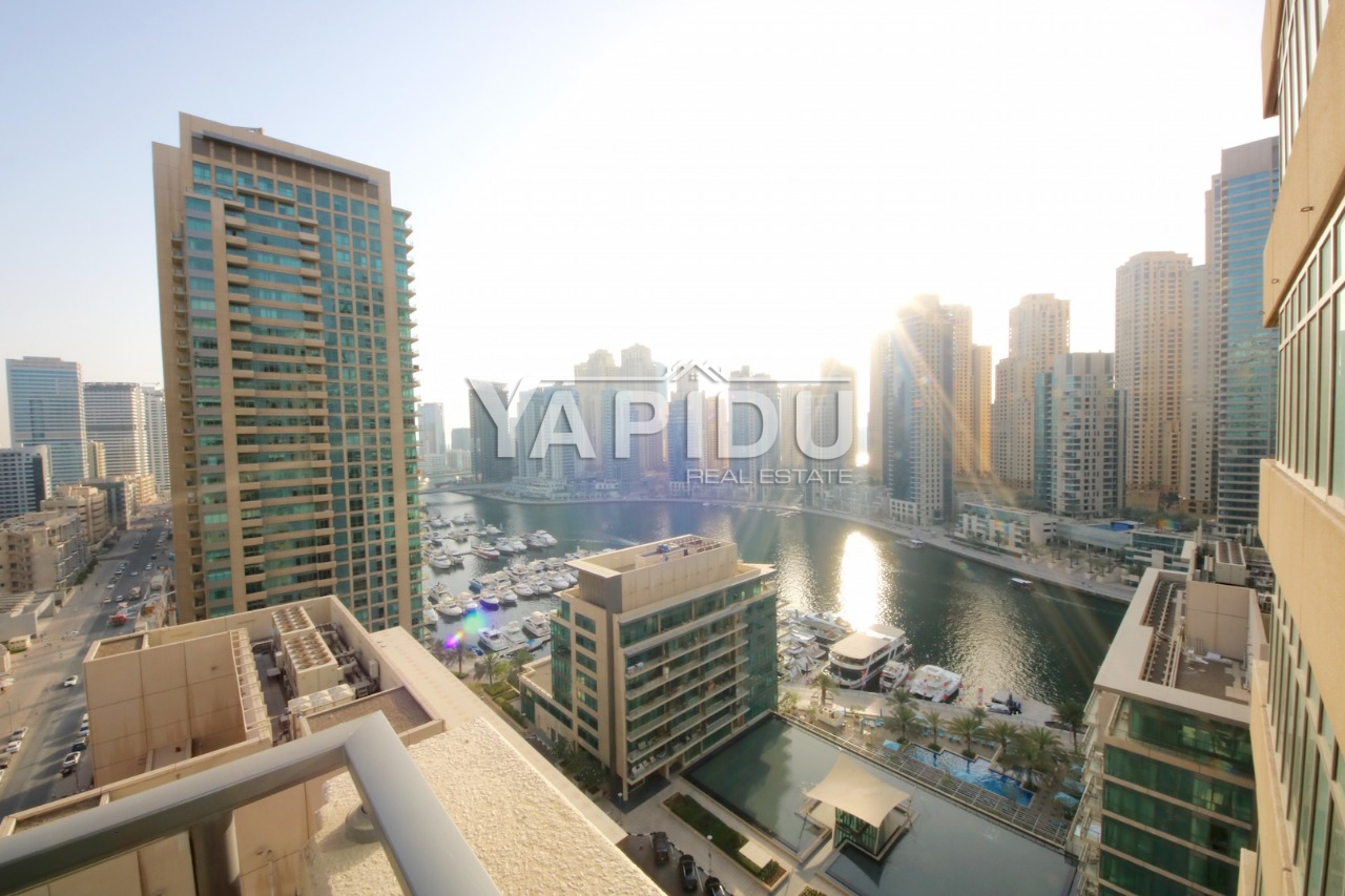 Dubai Marina Two Bedroom with Furniture  Middle Floor