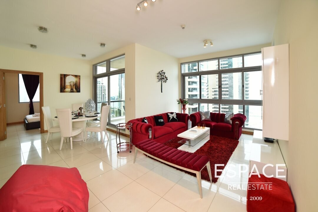 Nicely Furnished | Sea View | High Floor