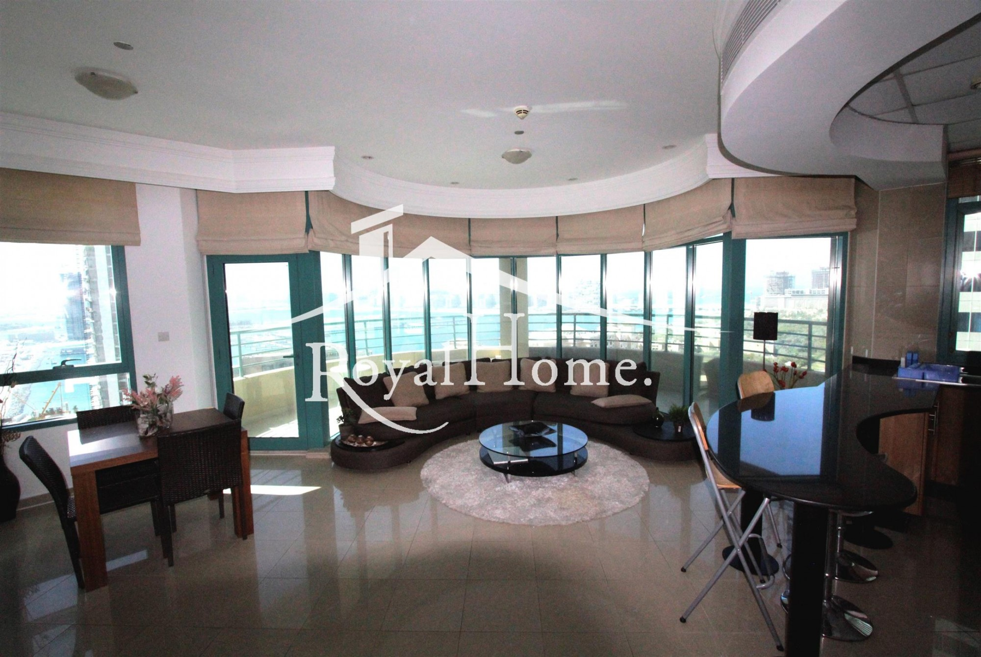 Spacious 2BR+study | Fully furnished | Sea view