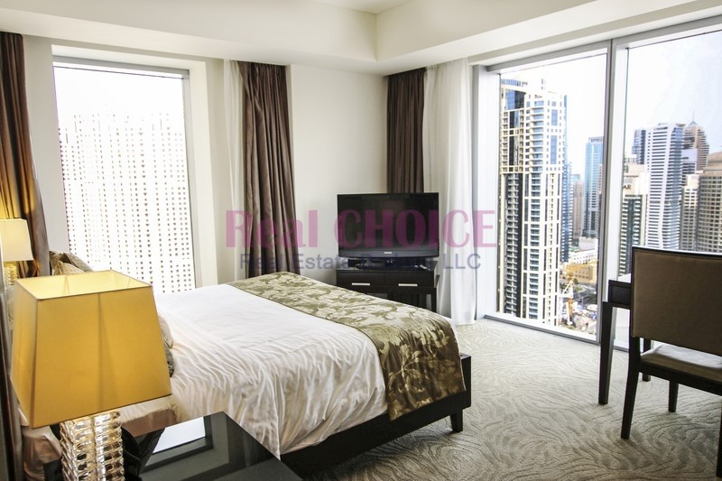 Directly link to Dubai Marina Mall|High floor