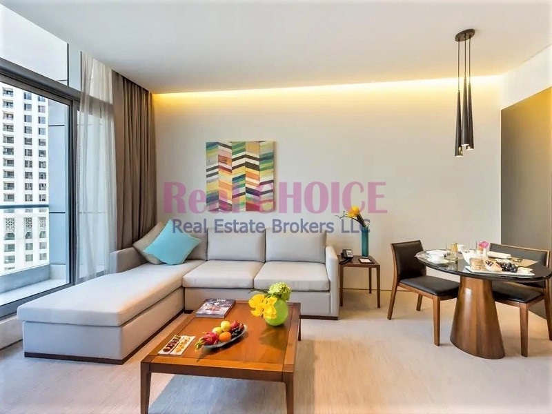 Prime Location|Fully Furnished 1BR Hotel Apartment
