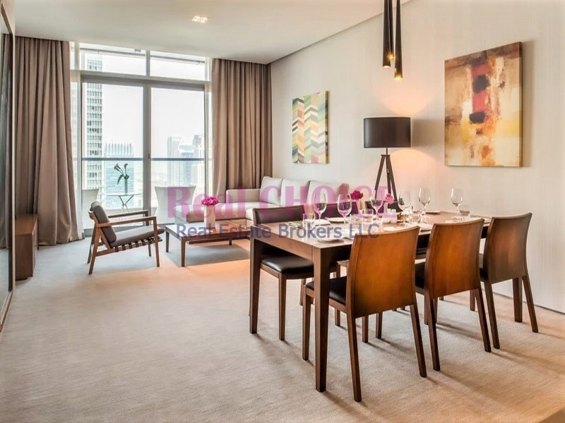 Amazing JBR View | Furnished 2BR Hotel Apartment