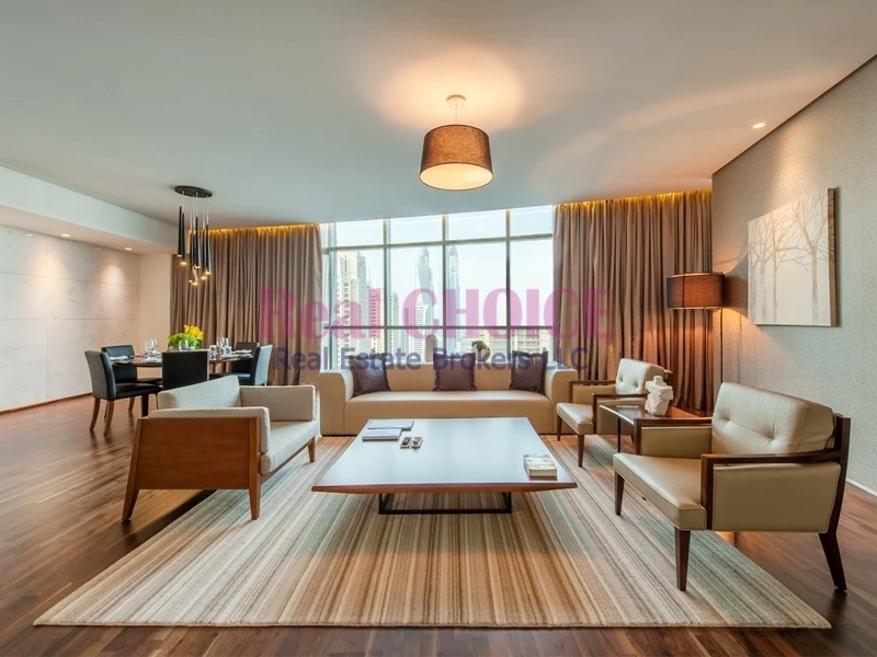 Spacious and Beautiful 4BR + M Penthouse | Furnished