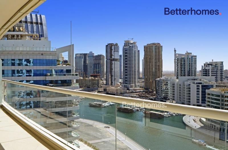 Marina View  High Floor |Unfurnished| Two Parkings
