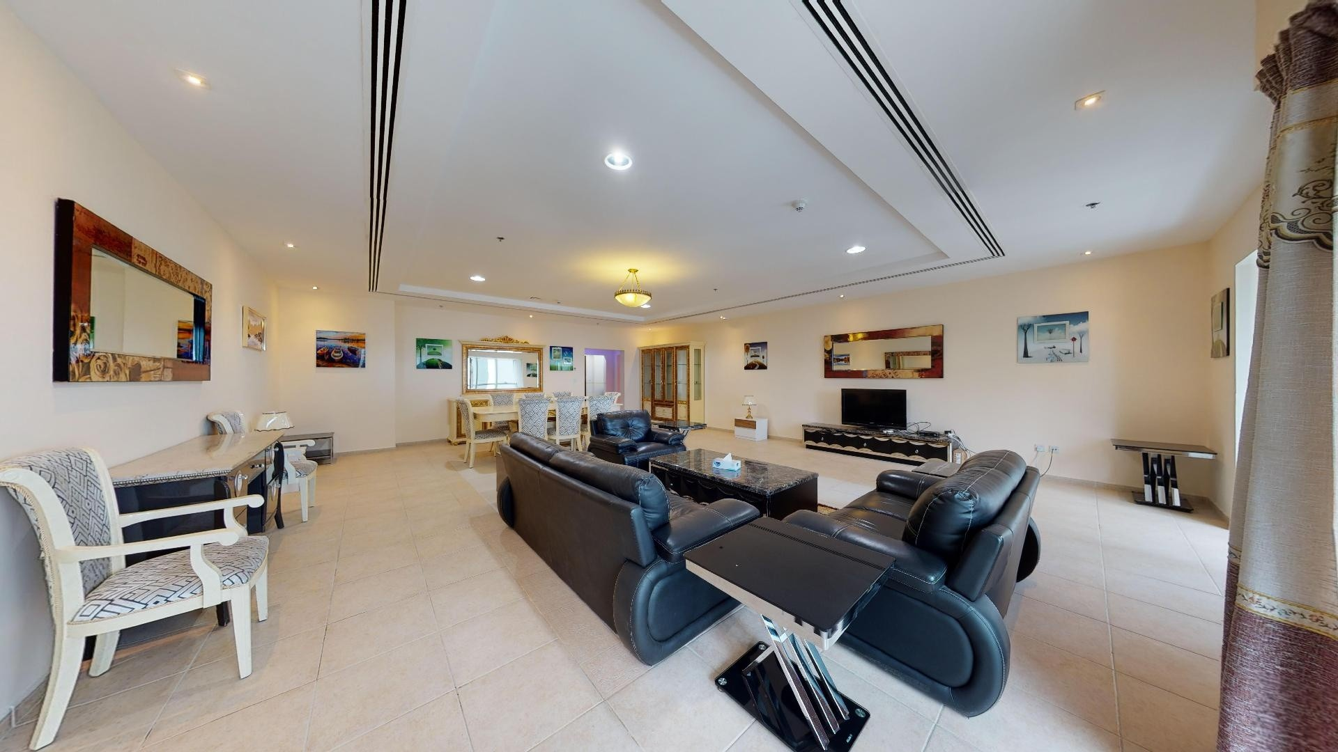 Furnished penthouse | Partial sea view | Pay rent online