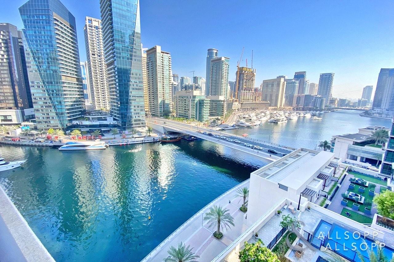 3 Bedroom Duplex | Full Marina Views
