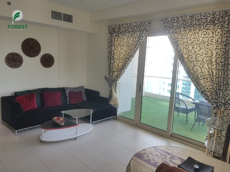 Fully Furnished | High Floor | Sea and Marina View