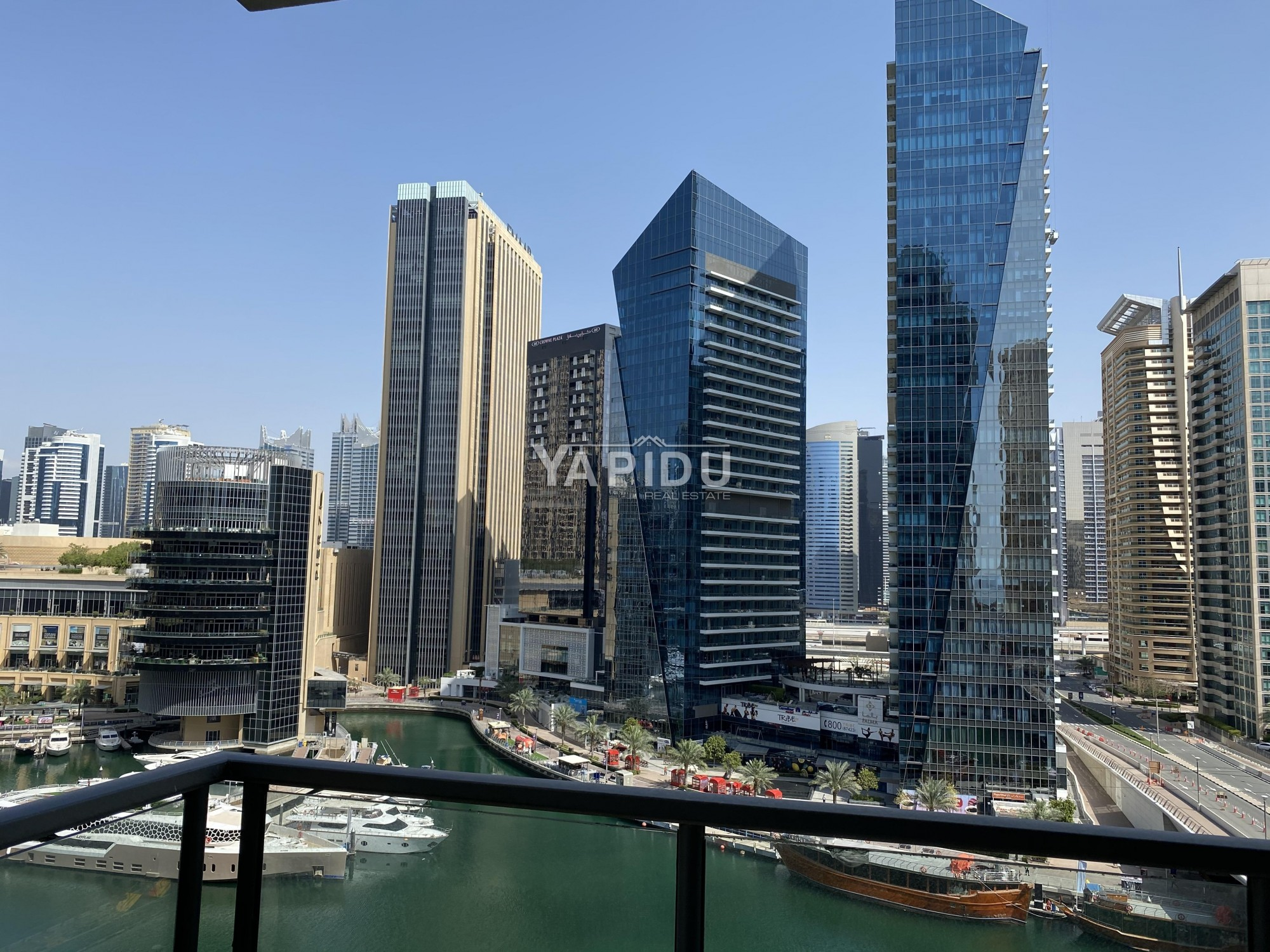 Full Marina View Large Two Bedroom unfurnished