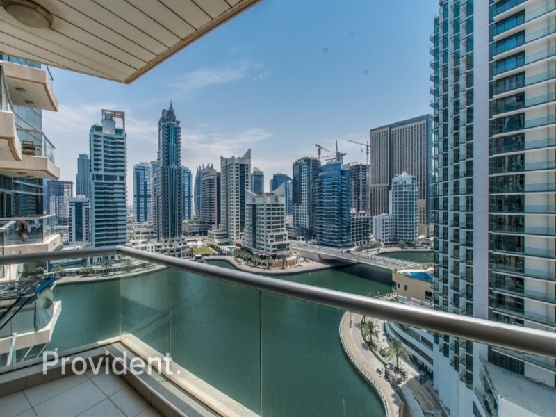 Exclusive and Managed with Full Marina View